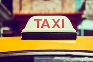 Taxi skylt